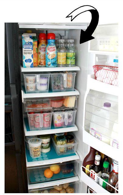 330 Best Refrigerator Amp Freezer Organization Images On