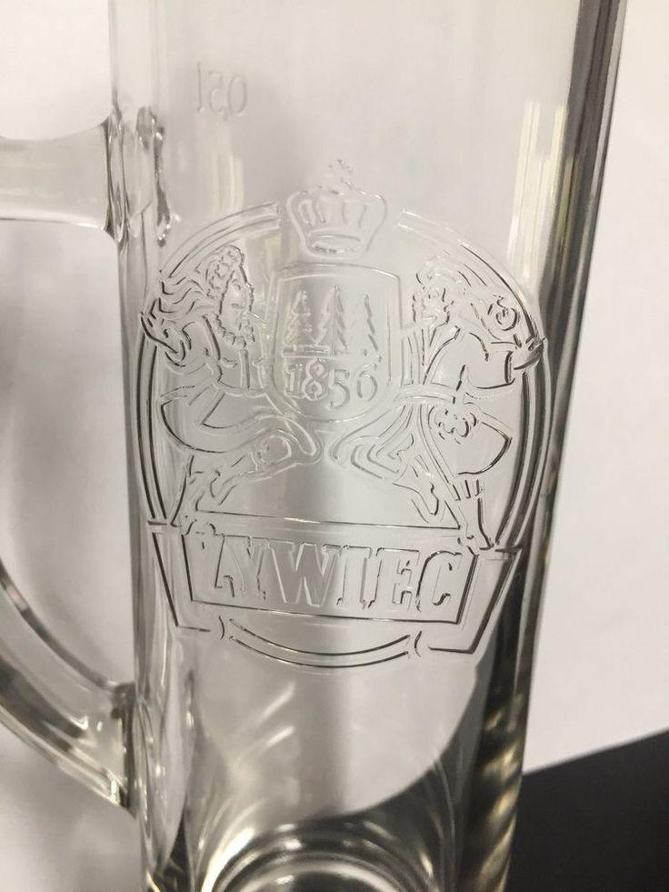 Zywiec Poland 0.5L Glass Beer Mug Stein Zywiec Brewery Poland Limited Edition #ZywiecPoland