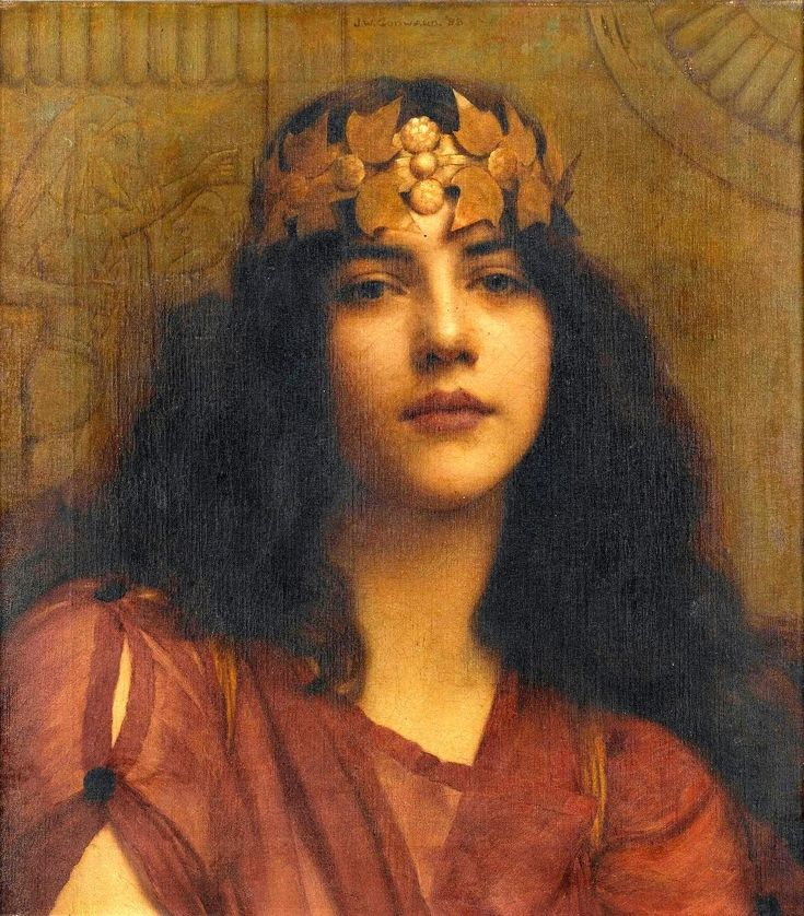 The Athenaeum - A Persian Princess (John William Godward - )