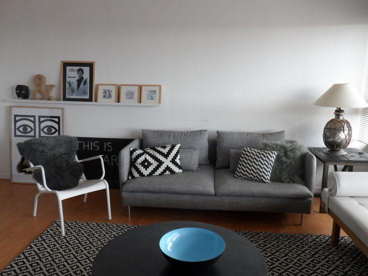 Salon Avec Fauteuil Bas Luxembourg Blanc Coton Fermob Living Room