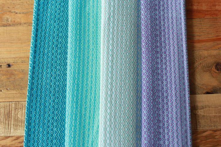 Madalo Diamond twill Pablo Azul Wrap