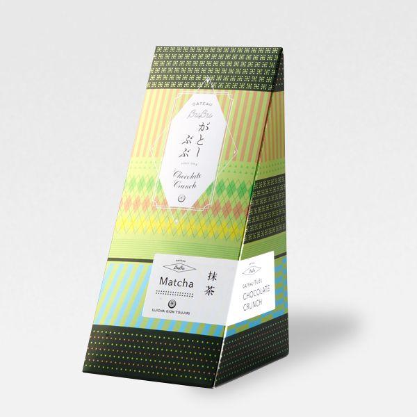 【31211】がとーぶぶ 抹茶・ほうじ茶チョコクランチ 各7個入