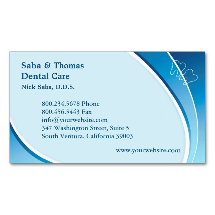 2017 best dental dentist business cards images on pinterest dental business card wappointment accmission Choice Image