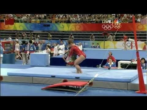 Shawn Johnson + uneven bars = beast!