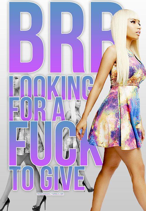 I love this Nicki minaj joke #minajdesignz.tumblr