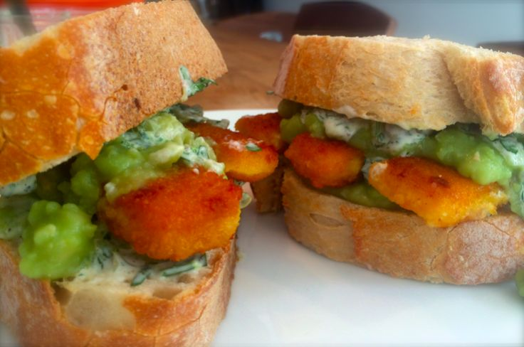 A Delicious Fish Finger Buttie