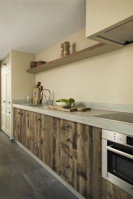 landelijk stoere keuken