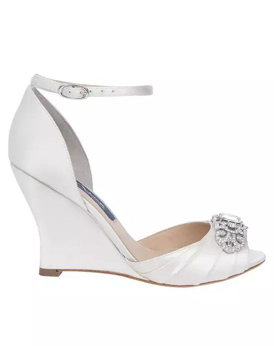 bb36f75f07 Nina Bridal Wedding Accessories Edyth-Ivory Ivory Shoe