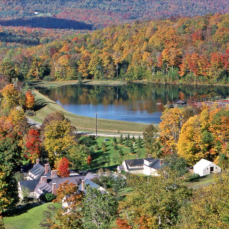 You can't find a more perfect town for leaf peeping, antiquing and hiking than Barnard. Cozy up at the historic Twin Farms Resort with their newly debuted spa treatments from Vermont-based skin pro Tata Harper. twinfarms.com