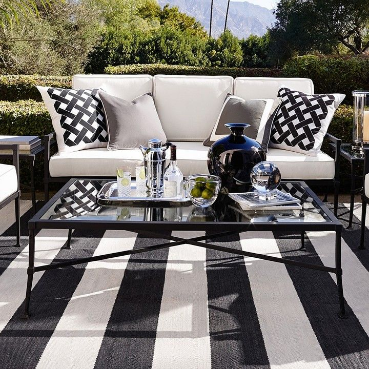 Cortland Sofa | Outdoor furniture, Outdoor space design ... on Living Accents Cortland Patio Set id=56737