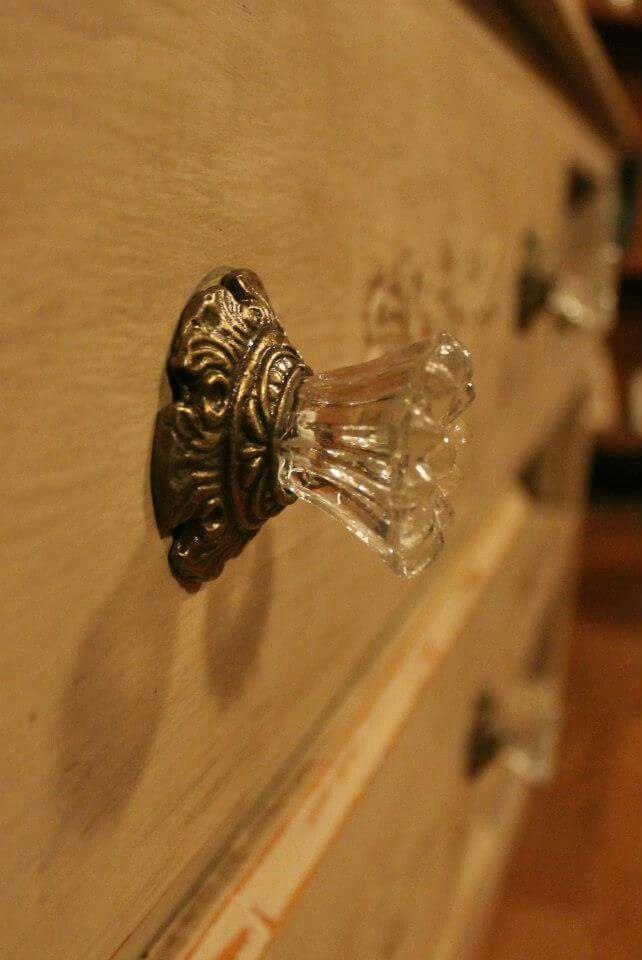 Beautiful glass knob www.albertadames.ca