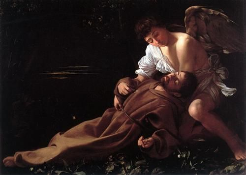 Saint Francis of Assisi in Ecstasy - Caravaggio