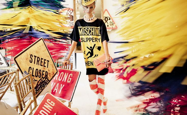Moschino 2016 Spring/Summer ad campaign