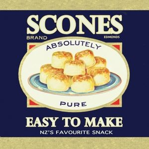 Scones Art Deco kiwiana print designed by Lou DesignMatt finished image mounted on 0.3cm (0.15 inches) thick MDF wood boardHanger mounted on backImage digitally designed by myself then mounted on to mdf board. All pieces produced and designed by myself and make great presents, especially for those who live out side of New Zealand.Made in New Zealand