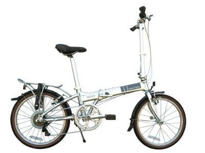 Dahon Mariner D7 Folding Bike, Brushed