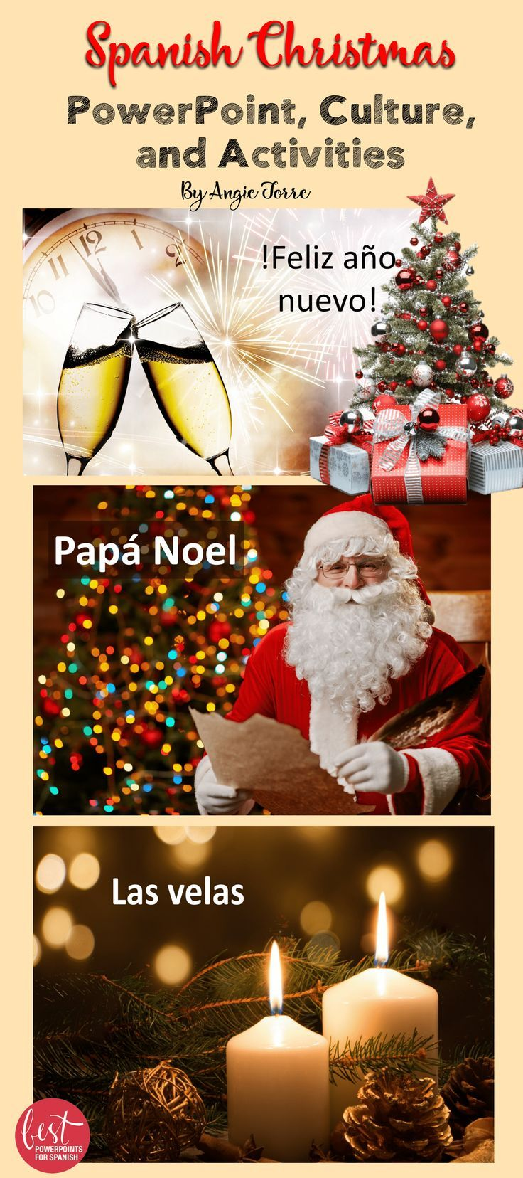 Spanish Christmas La Navidad Powerpoint Culture And Activities Bundle Spanish Christmas Spanish Holidays Spanish