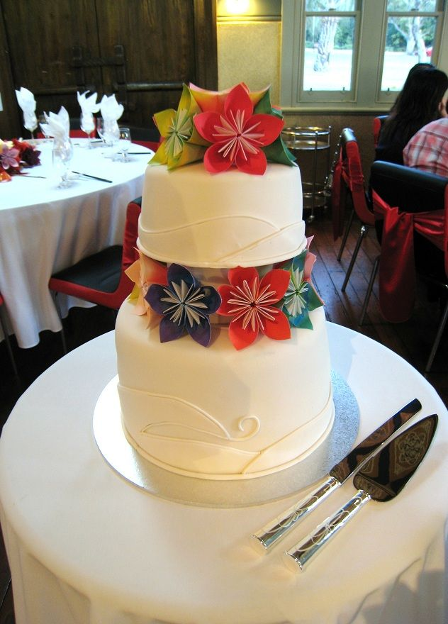 Até o dia do casamento: Origamis na decoração