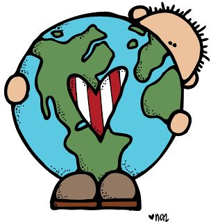 Earth Day Picture for a Bulletin Board or Classroom Decor Children's Craft / Art Project - Great for Pre-K Complete's Earth Day theme! Repinned by Pre-K Complete - follow us on our blog, FB, Twitter, & Google Plus!