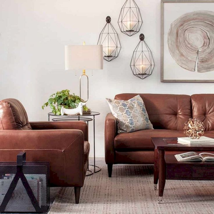 15 Best Modern Living Room With Leather Sectional Sofa Ideas