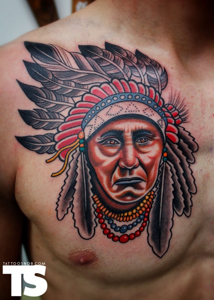 best 25 indian chief tattoo ideas on pinterest. Black Bedroom Furniture Sets. Home Design Ideas