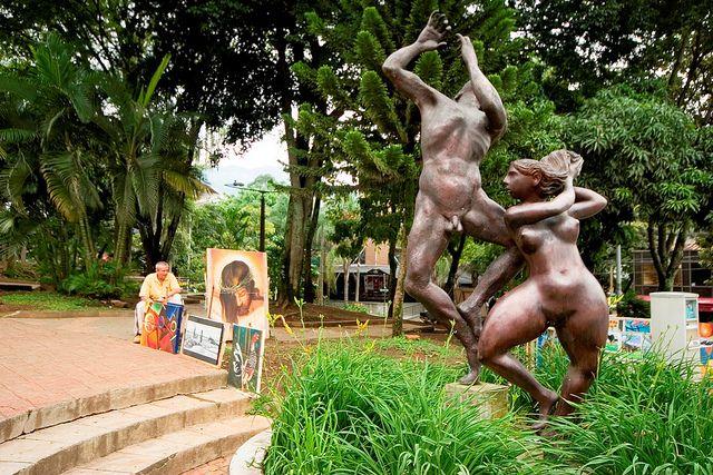 Parque Lleras - Medellín