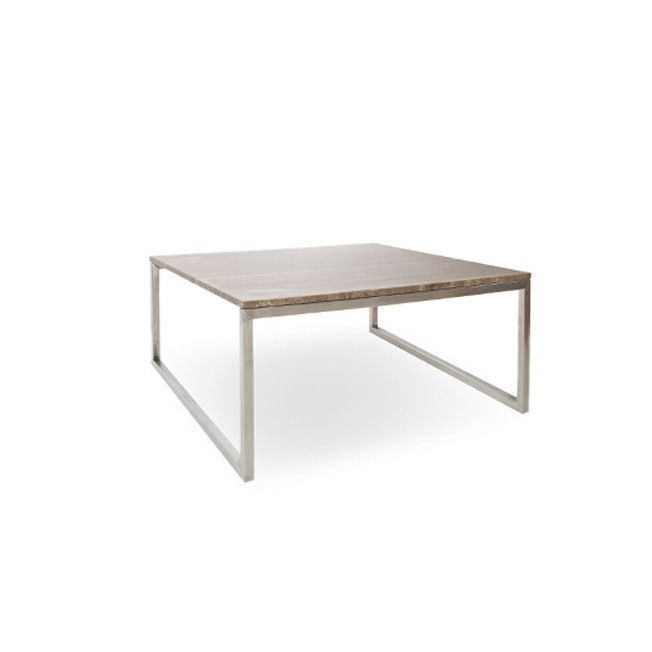 STEEL SQ COFFEE TABLE   The Simple, Elegant Lines Of Our Stainless Steel  Frames Complement Not Only The Table Tops, But Everything Else In The Room. Part 82
