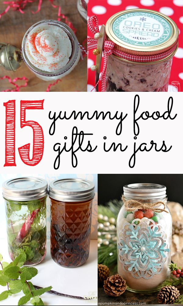 15 of the yummiest food gifts in jars - perfect for the holidays