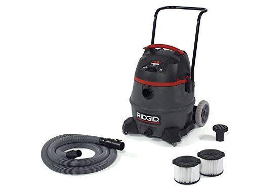 Ridgid 50373 RV3410 Smart Pulse Wet/Dry Vacuum, 14 gal, Red