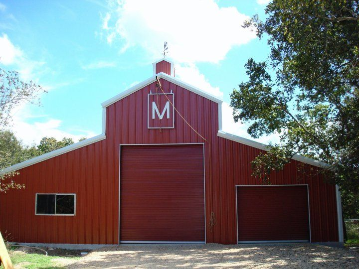 30 best barndominiums images on pinterest barn houses for Custom pole barn homes