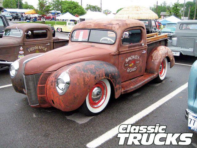 1940 Ford Pickup Truck Trucks Classic Trucks Ford Trucks