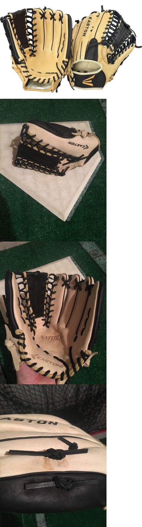Gloves and Mitts 16030: Easton Natural Elite 12.75 Trapeze Baseball Softball Outfield Glove Nwt -> BUY IT NOW ONLY: $59.99 on eBay!