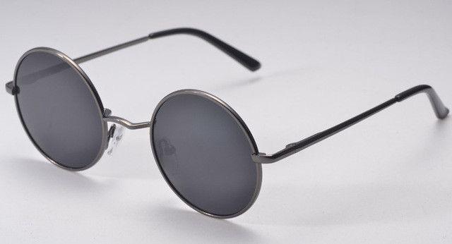 Classic Polarized Round Sunglasses Small Vintage Retro John Lennon Glasses