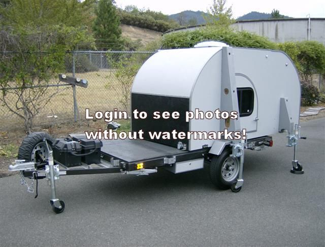 Teardrops n Tiny Travel Trailers • View topic - Completed convertible TD, all comments welcome