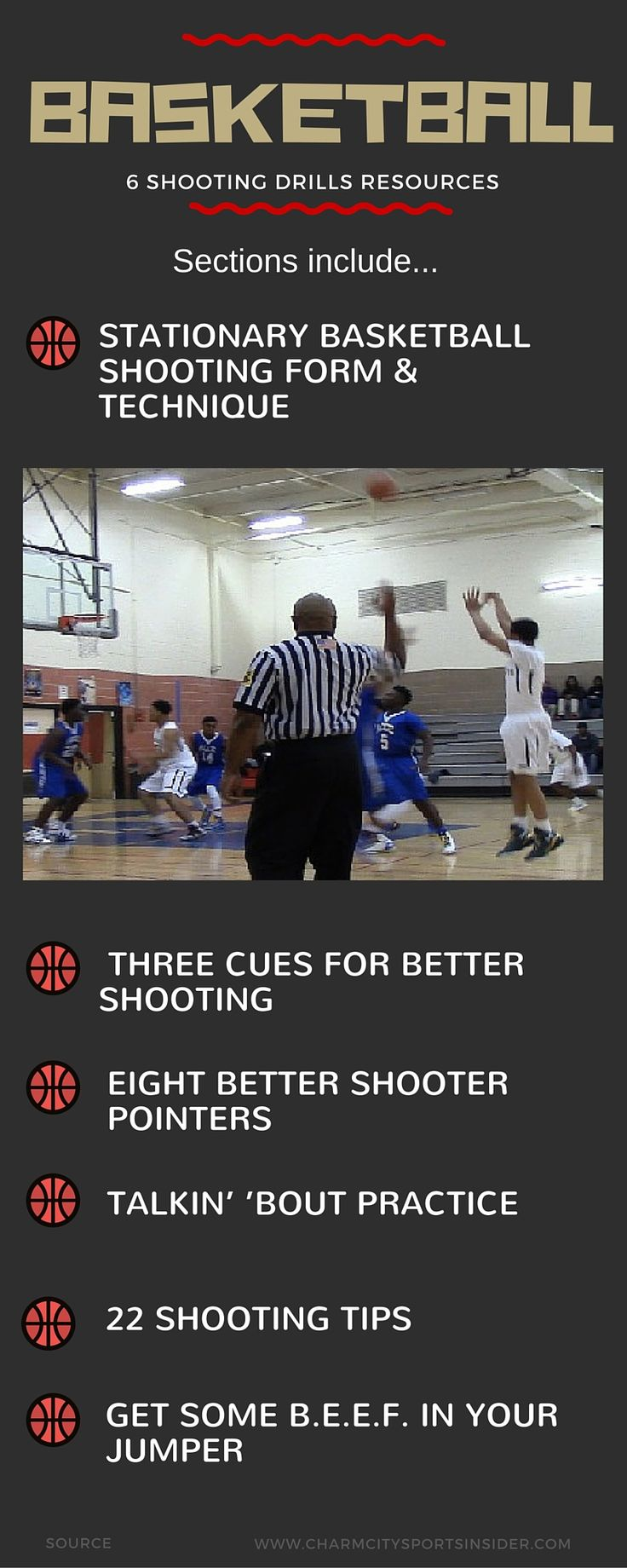 Six Basketball Shooting Drills Resources                                                                                                                                                                                 More