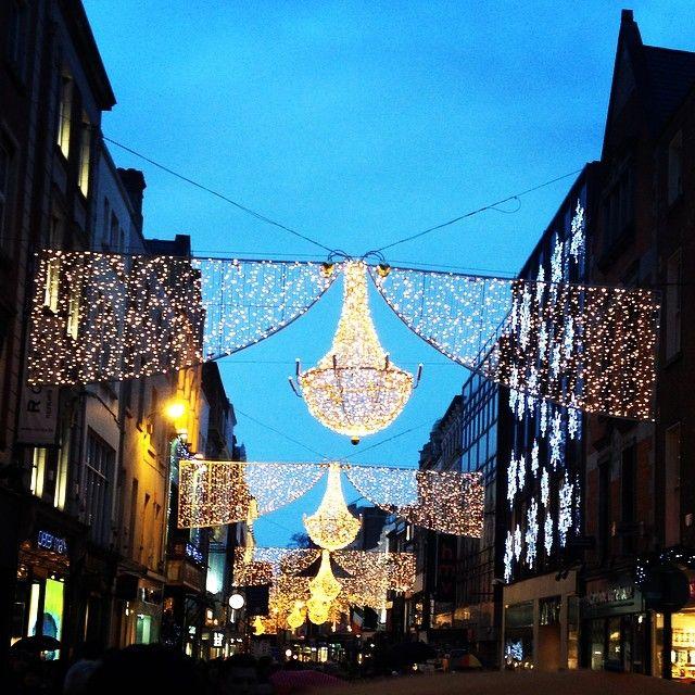 Luci di Natale a #Dublino