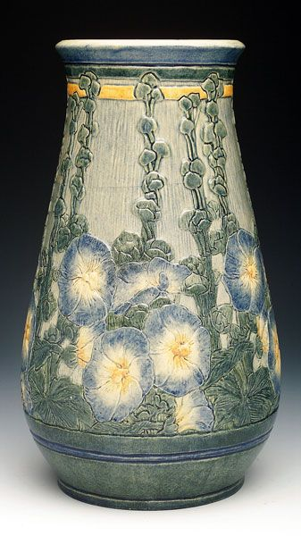 Newcomb Pottery  - morning glories