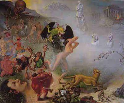ARTE, PINTURA Y GENIOS.: Arturo Borda: Realismo mágico con aroma boliviano.