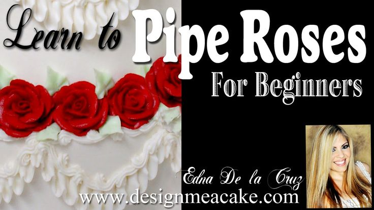 17 Best Ideas About Buttercream Roses On Pinterest Icing
