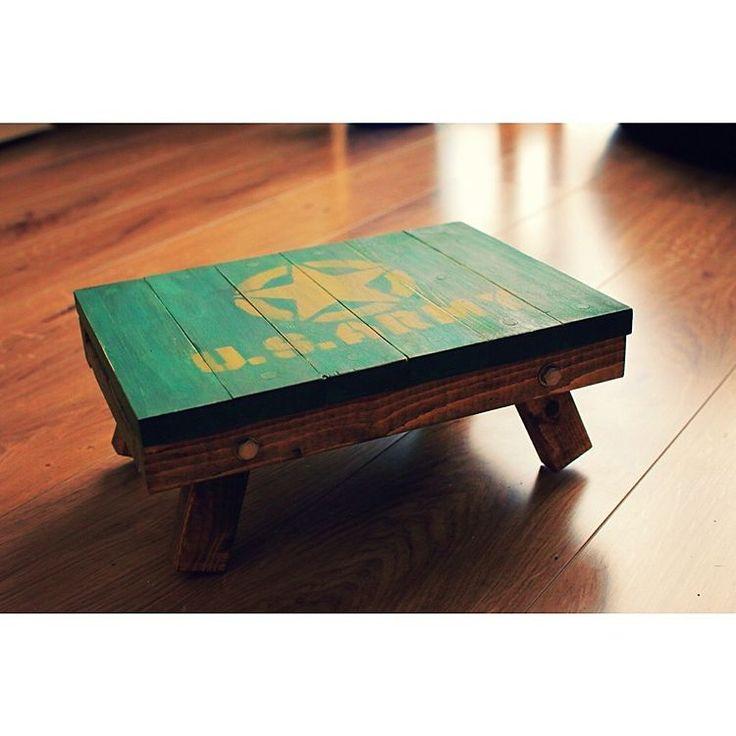 オールドビレッジ/木琴テーブル/インテリア/自作テーブル/折りたたみテーブル/シンプル…などのインテリア実例 - 2017-04-23 01:28:51 | RoomClip(ルームクリップ)