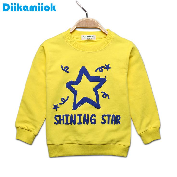2017 Spring Baby long sleeve t-shirt for boys letter star pattern girls shirts kids children clothing tops tees autumn 7-24M //Price: $17.70 //     #fashionkids