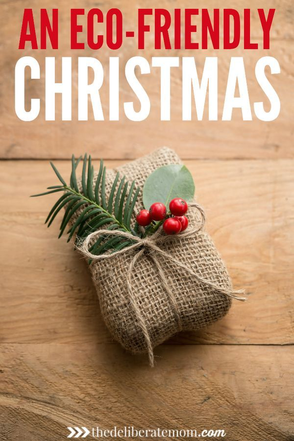 How to plan an eco friendly christmas the deliberate mom Environmentally friendly decorations