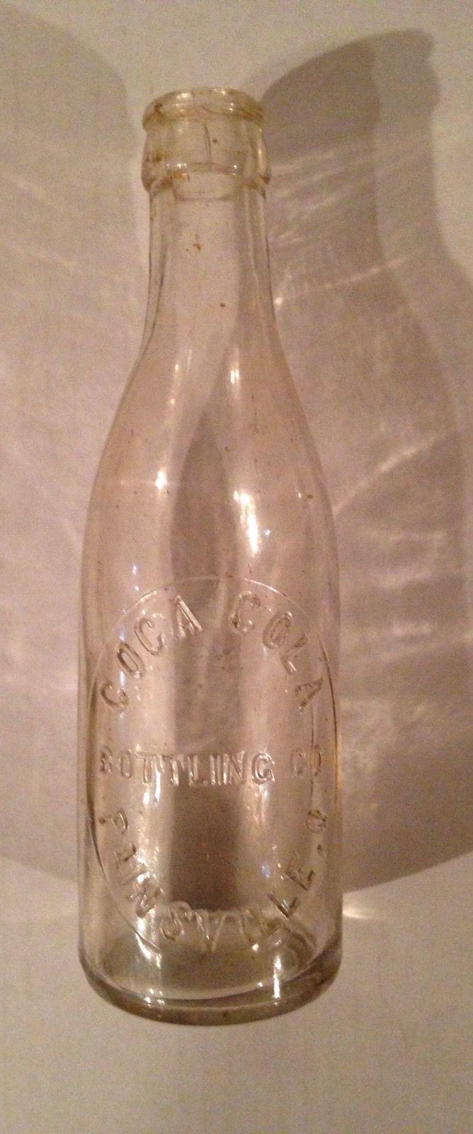 Antique Coca Cola Bottle Painsville Ohio - Pre 1905 (reduced)