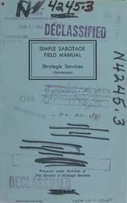 Internet Archive Search: cia training  sample sabotage field manual #cia