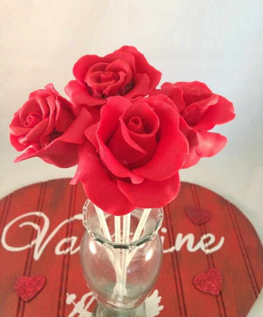 Make me my Cake: TUTORIAL ROSE CAKE POPS VALENTINE'S DAY!!!