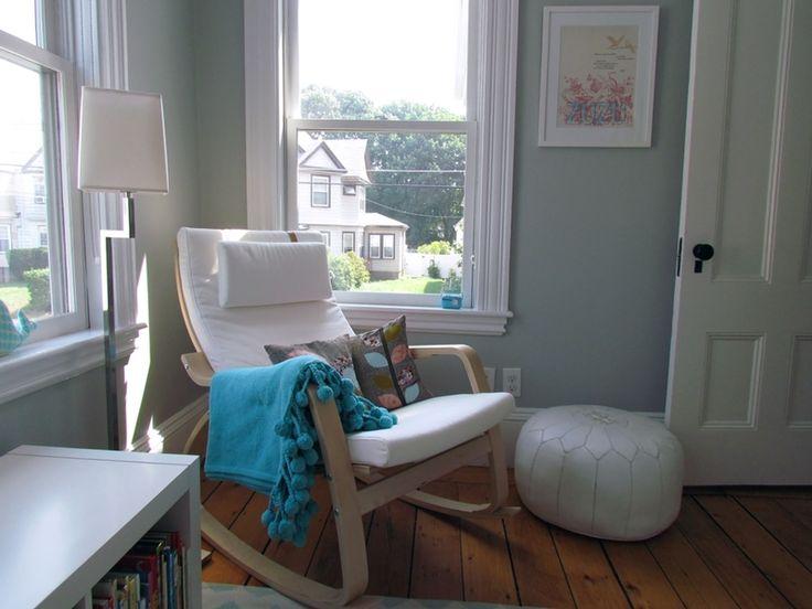 Ikea Unterschrank Ausziehbar ~ Ikea poäng rocking chair in nursery