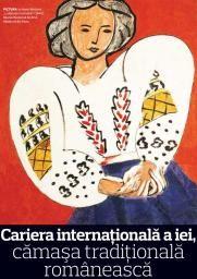 Cariera internaţională a iei, cămaşa tradiţională românească | Historia