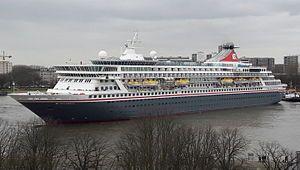 Balmoral. Ιδιοκτησία: Balmoral Cruises Ltd. Διαχείριση: Fred. Olsen Cruise Lines. 1988 ~ 1996 Crown Odyssey. 1996 ~ 2000 Norwegian Crown. 2000 ~ 2003 Crown Odyssey. 2003 ~ 2007 Norwegian Crown. 2007 ~ present, today's name. Στην υπηρεσία από τις 07/06/1988. 43.537GT ~ 217,91 μ.μ. ~ 28,21 μ.πλάτος ~ 22,5knots ~ 10 κατ/τα ~ 1.778 επ. ~ 471 α.πλ.