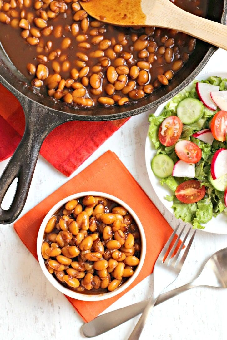 Smoky Skillet Bbq Baked Beans