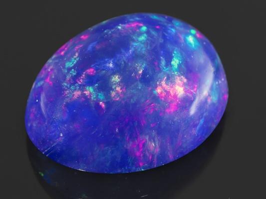 2.00 ct 11x9mm Galinieri Ethiopian blue #opal