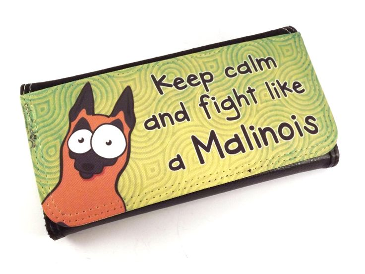 Malis nagy pénztárca / Wallet with malinois graphics